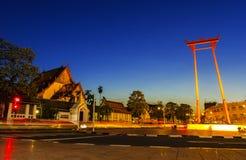 Wat Sutadhtepvararam Royalty Free Stock Photography