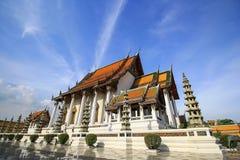 Wat Sutat,曼谷,泰国 库存照片