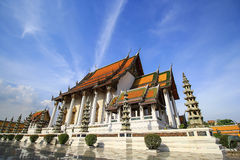 Wat Sutat, Bangkok, Thailand Stock Foto