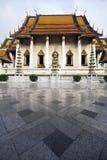 Wat Sutat (Sutat tempel), Bangkok, Thailand Royaltyfri Fotografi