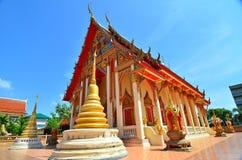Wat Suthapoch на Бангкоке Стоковые Изображения RF