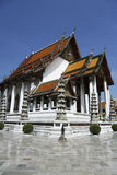 Wat suthat buddhist temple bangkok thailand Stock Photo