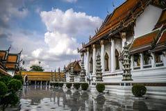Wat Suthat em Banguecoque Imagens de Stock Royalty Free