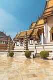 Wat Suthat, royal temple at the Giant Swing in Bangkok in Thailand. Royalty Free Stock Photo