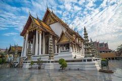 Wat Suthat temple in Bangkok, Thailand Royalty Free Stock Photos
