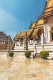 Wat Suthat, templo real no balanço gigante em Banguecoque em Tailândia Foto de Stock Royalty Free