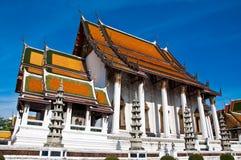 Wat Suthat thai temple Royalty Free Stock Photo