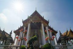 Wat Suthat Thep Wararam Royalty-vrije Stock Foto's
