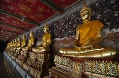 Wat Suthat Thep Wararam. (Thai: วัดสุทัศนเทพวราราม, Thai pronunciation: [wát su.tʰát tʰêːp.wáʔraːraːm]) is a Royalty Free Stock Photography