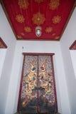 Wat Suthat Thep Wararam. (Thai: วัดสุทัศนเทพวราราม, Thai pronunciation: [wát su.tʰát tʰêːp.wáʔraːraːm]) is a Royalty Free Stock Image