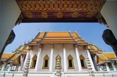 Wat Suthat Thep Wararam. (Thai: วัดสุทัศนเทพวราราม, Thai pronunciation: [wát su.tʰát tʰêːp.wáʔraːraːm]) is a Stock Photography