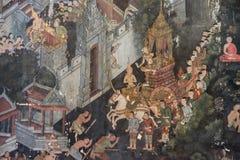 Wat Suthat Thepphawararam, Бангкок, Таиланд, 1-ое октября 2017 Стоковое Фото