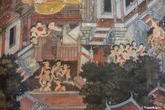 Wat Suthat Thepphawararam, Bangkok, Tailandia, el 1 de octubre de 2017 imagen de archivo libre de regalías