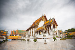 Wat Suthat Thepwararam in Bangkok Royalty Free Stock Images
