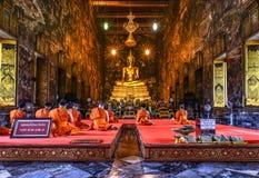 Wat Suthat Thepwararam. Shoot from bangkok royalty free stock images