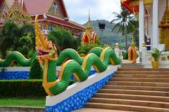 Wat Suwan Khirikhet Stockbild