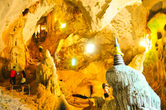 Wat Suwan KhuHa Phangnga Thailand Royalty-vrije Stock Foto's