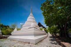 Wat Suwandararam a Ayutthaya Fotografia Stock