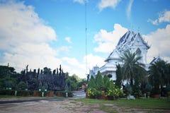 Wat Suwannakhuha in Khongjiam Ubon Ratchathani Thailand stock fotografie