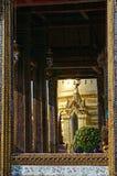 Wat szczegóły Phra Kaew Fotografia Royalty Free