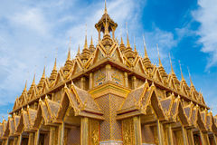 Wat ta-sung in Chainat Province, northern Thailand Royalty Free Stock Photography