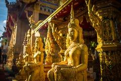 Wat tai phra chao yai ong tue. (Temple) in Ubon ratchathani, Thailand Stock Photo