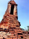 Wat tailandês, Tailândia, ayutthaya, watthai Fotografia de Stock