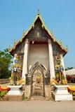 Wat Takarong - Ayuthaya, Tailandia Immagine Stock