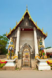 Wat Takarong - Ayuthaya, Thailand Stock Afbeelding