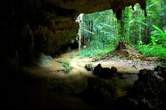 Wat Tam Seu-uh (tempiale) della caverna della tigre Krabi, Tailandia Fotografie Stock