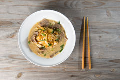 Wat tan hor, popular cantonese fried noodle Royalty Free Stock Images