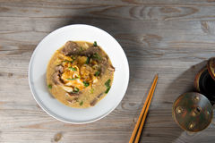 Wat tan hor, popular cantonese fried noodle Royalty Free Stock Image