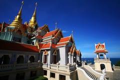 Wat Tang Sai bij zonnige dag, Thailand royalty-vrije stock afbeelding