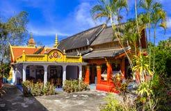 Wat Tat Luang Buddhist Temple Stock Afbeelding