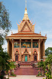 wat tbo Камбоджи установленное Стоковая Фотография RF