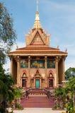 Wat Tbo réglé au Cambodge Photographie stock libre de droits