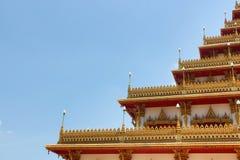 Wat-Tempel Thailand Lizenzfreies Stockfoto