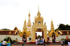 Wat temple in  thailand Stock Image
