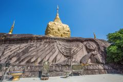 Wat Temple Tham Pha Daen, Sakon Nakhon, Thailand. royalty free stock photos