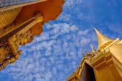 Wat (templo) Phra Kaew Fotografía de archivo libre de regalías