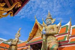 Wat (templo) Phra Kaew Fotos de archivo libres de regalías