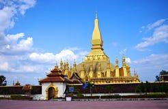 Wat Ten Luang przy Loas Zdjęcie Stock