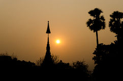 Wat thaï Photographie stock