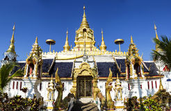Wat Tha Jumpi : Jedi 9 yod(Pagoda nine pinnacle) Royalty Free Stock Images