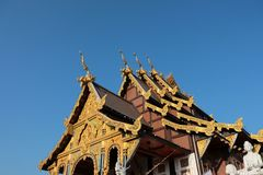 Wat Tha Mai temple. Samut Sakhon in Thailand Royalty Free Stock Images