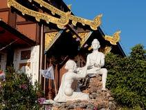 Wat Tha Mai temple. Samut Sakhon in Thailand Stock Photography