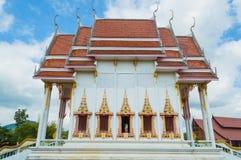 Wat Tha Nawa Buddyjska świątynia - Ma - fotografia stock