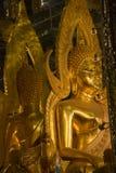 WAT THA SUNG. Buddha in WAT THA SUNG UTHAITHANI Stock Images