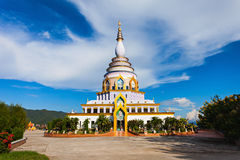 Wat Tha Ton. Is a buddhist temple in Chiang Mai Province, Thailand Royalty Free Stock Photo