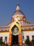 Wat tha ton. Buddish temple in tha ton, thailand Stock Photo